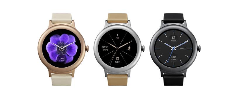 LG y Google presentando Smartwatches con Android Wear 2.0