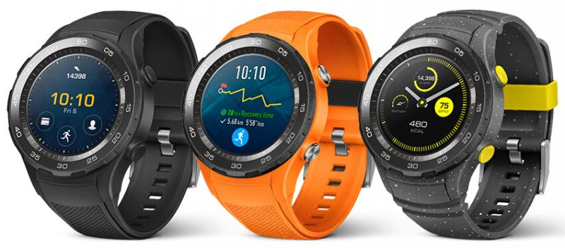 Huawei Watch 2 colores