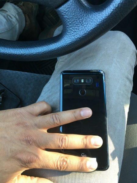 LG G6 foto filtrada