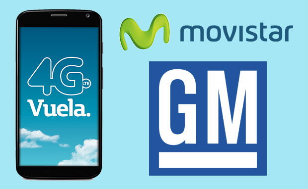Movistar 4G LTE con  GM