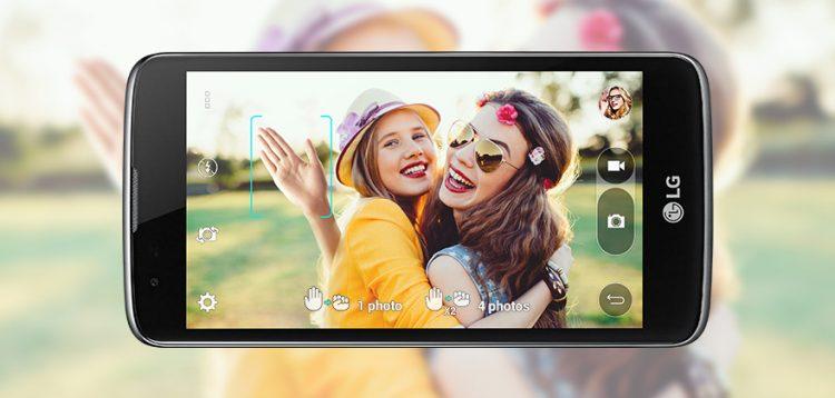 LG K10 pantalla