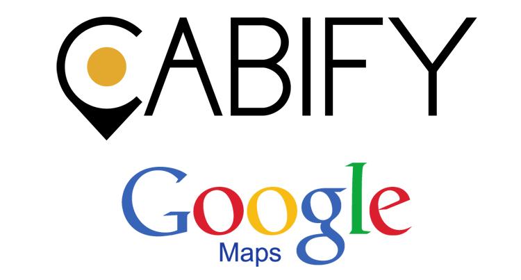 Cabify y Google Maps