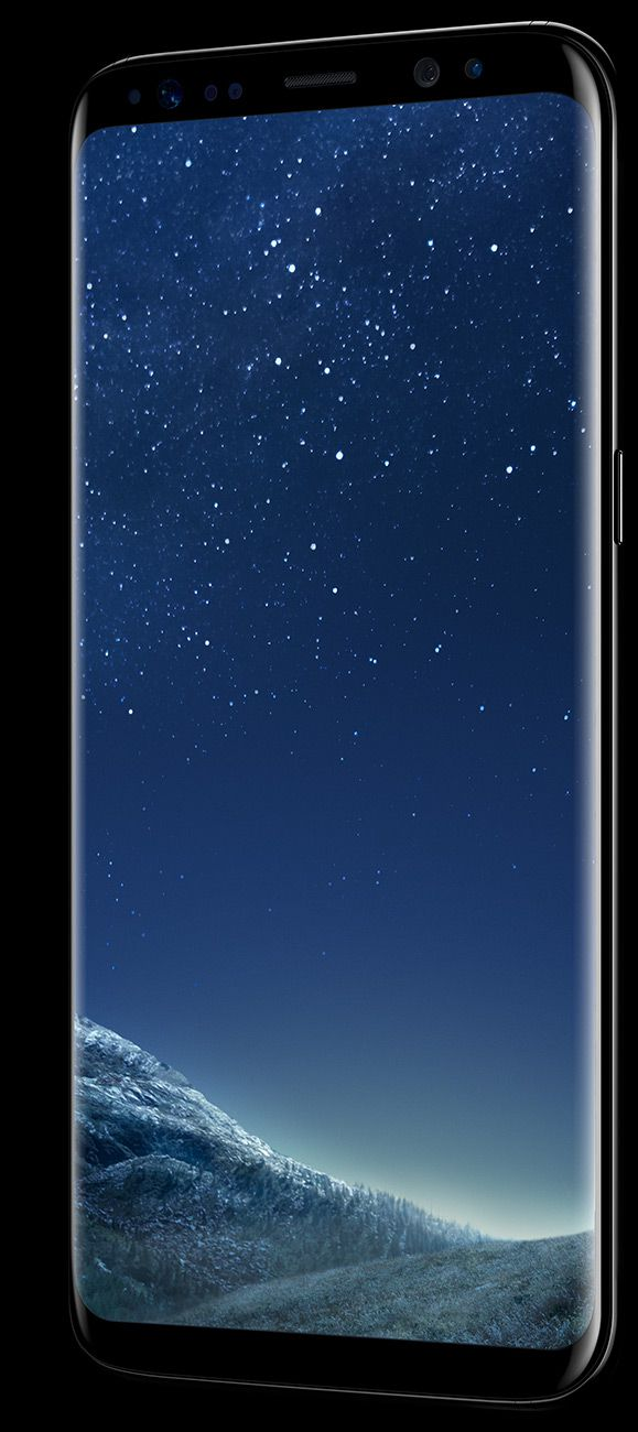 Samsung Galaxy S8 pantalla perfil