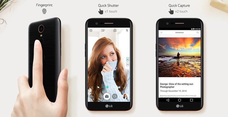 LG K10 2017 características