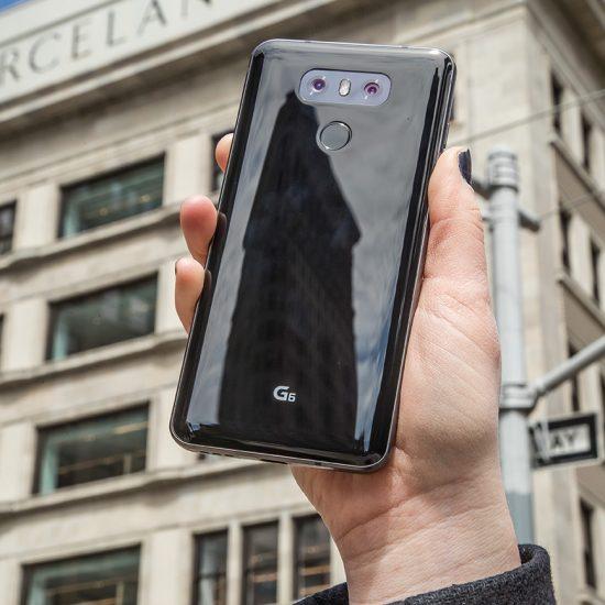LG G6 cubierta