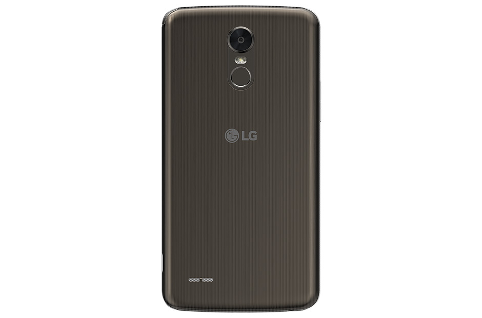 LG Stylus 3 en México posterior con sensor de huellas digitales