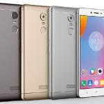 Lenovo K6 Note con 3 GB en RAM y sensor de huellas ya en México