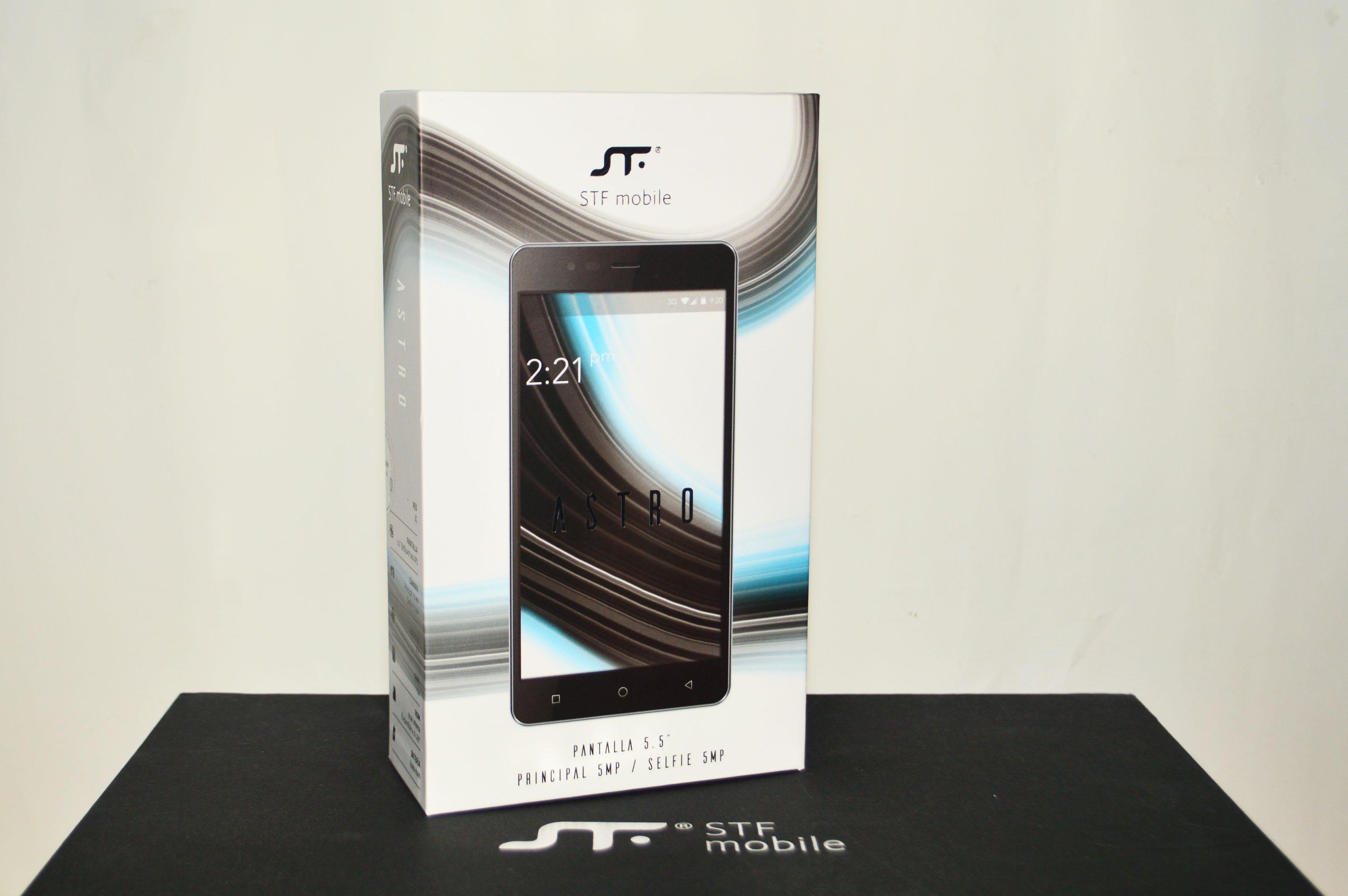 STF Mobile Astro empaque
