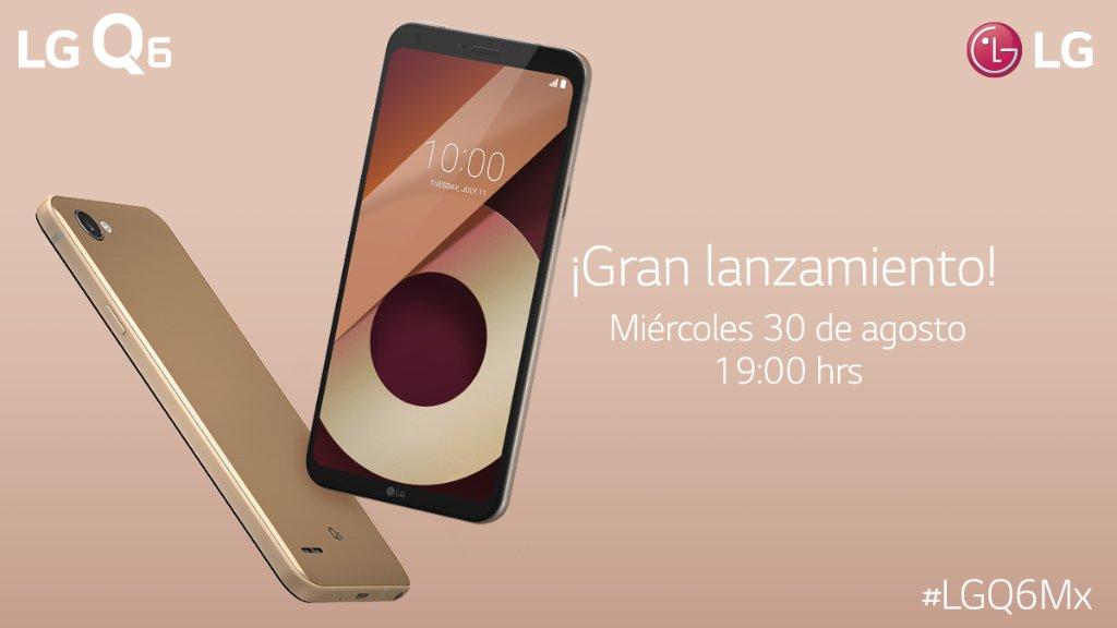 LG Q6 en México