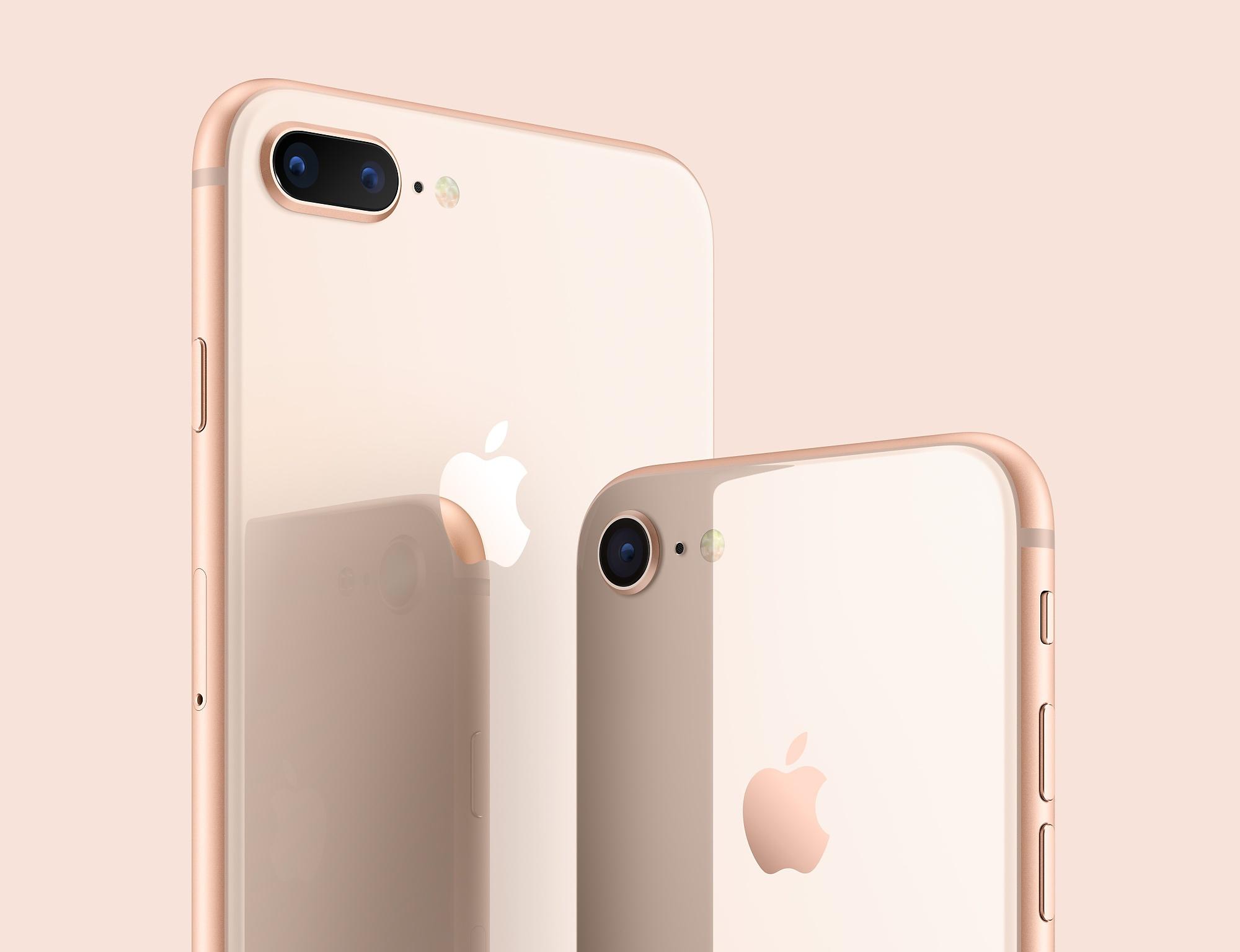 Apple iPhone 8 y 8 Plus
