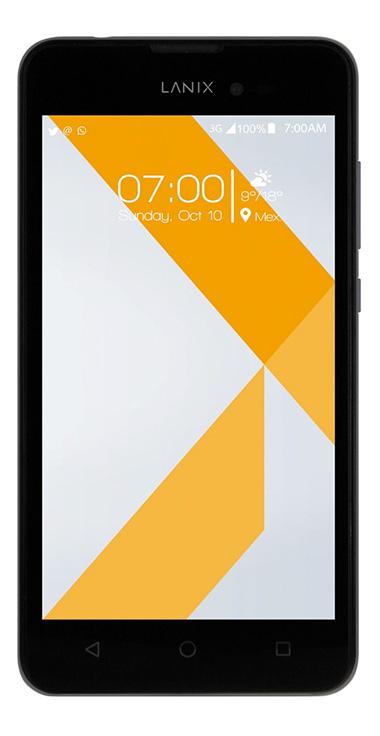 Lanix Ilium X520 en Telcel México pantalla