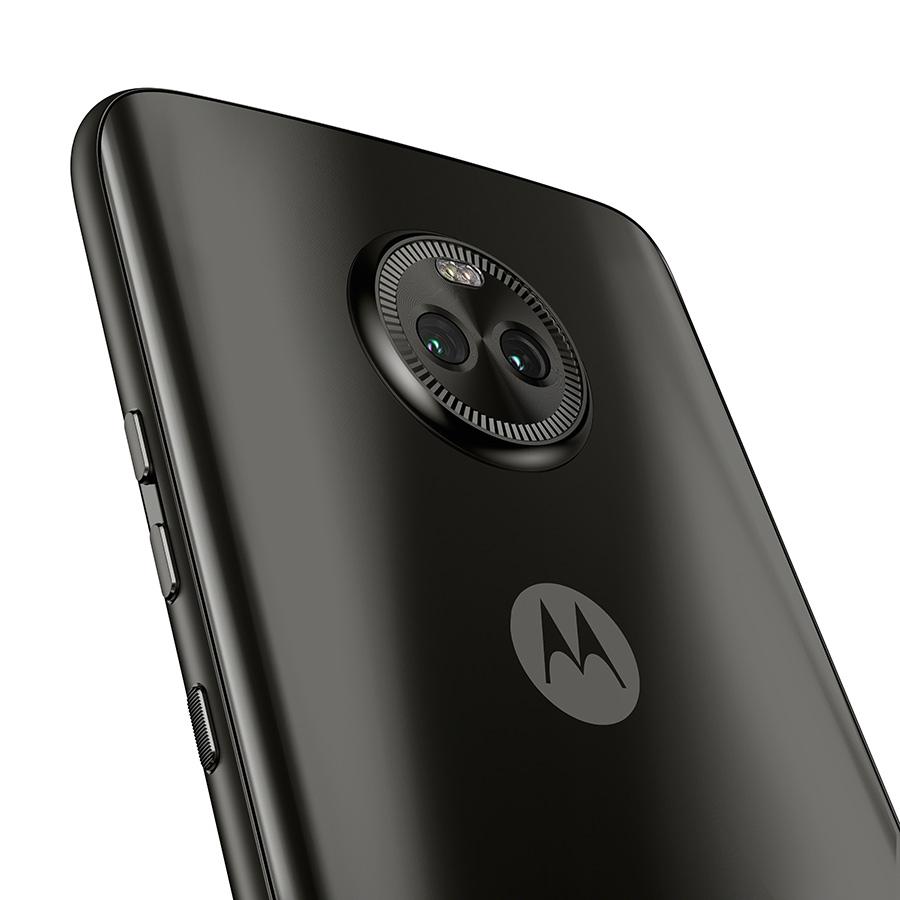 Moto X4 en México color negro cámara dual trasera de 12 MP