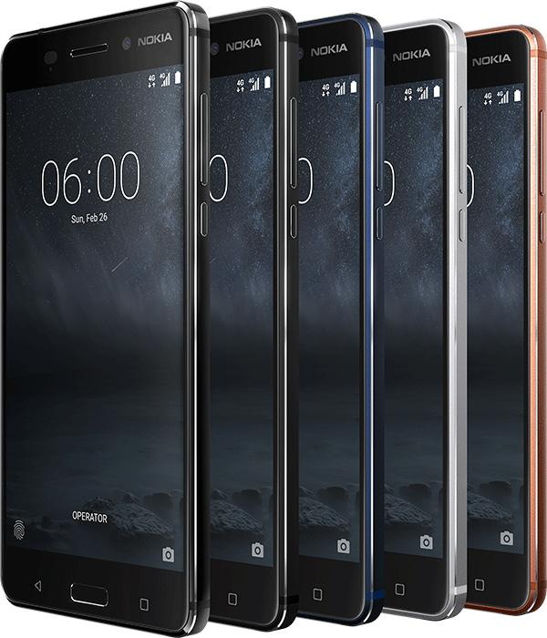 Nokia 6 en México Movistar  colores