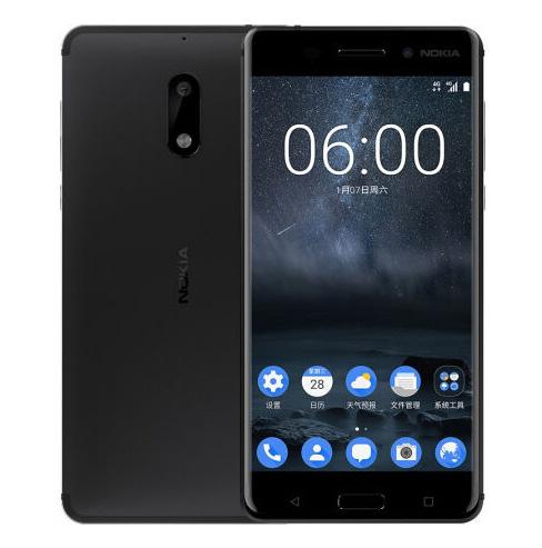 Nokia 6 pantalla y cámara posterior