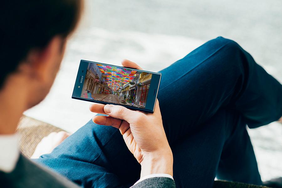 Sony Xperia XZ Premium en México pantalla 4K HDR