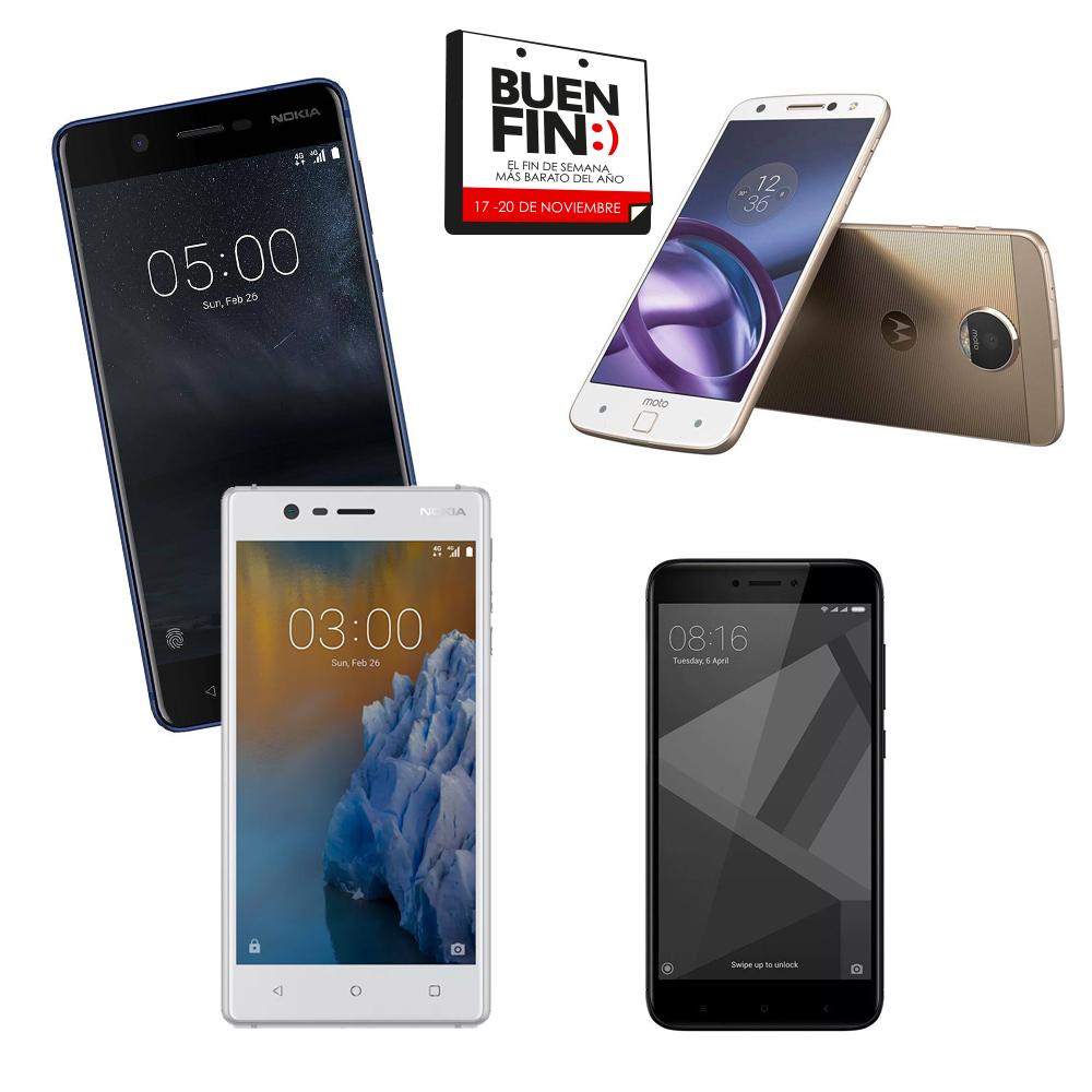 Buen Fin 2017: Xiaomi, Nokia, Motorola