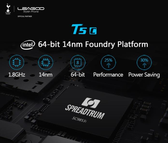 Procesador Spreadtrum SC9853i  de Intel con 8 núcleos