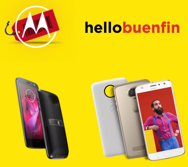 Motorola en el Buen Fin 2017