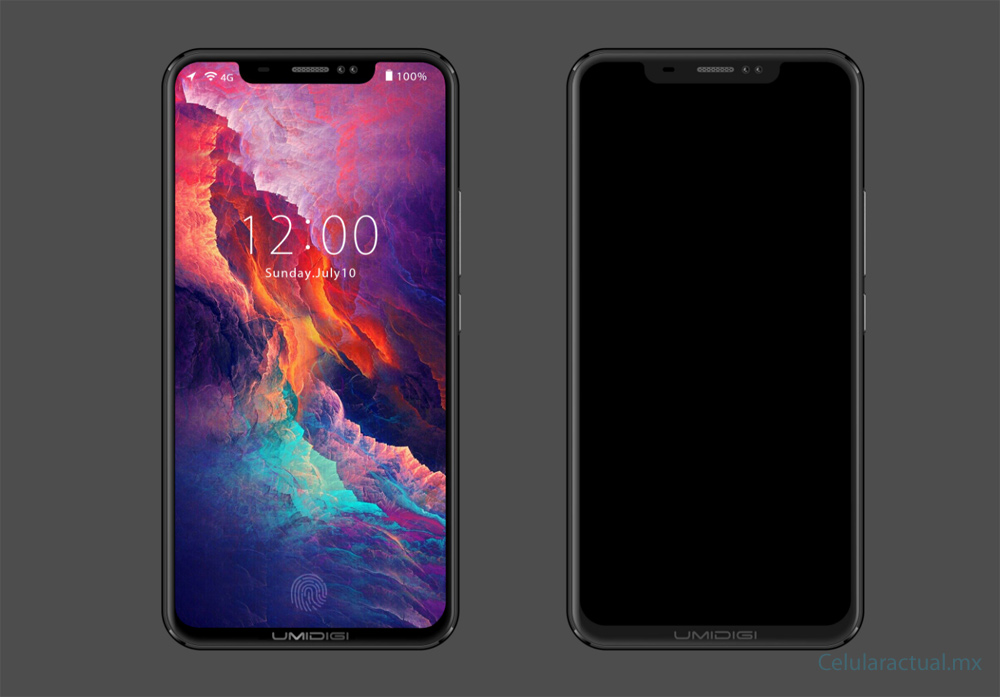 UMIDIGI Z2 similar al iPhone X