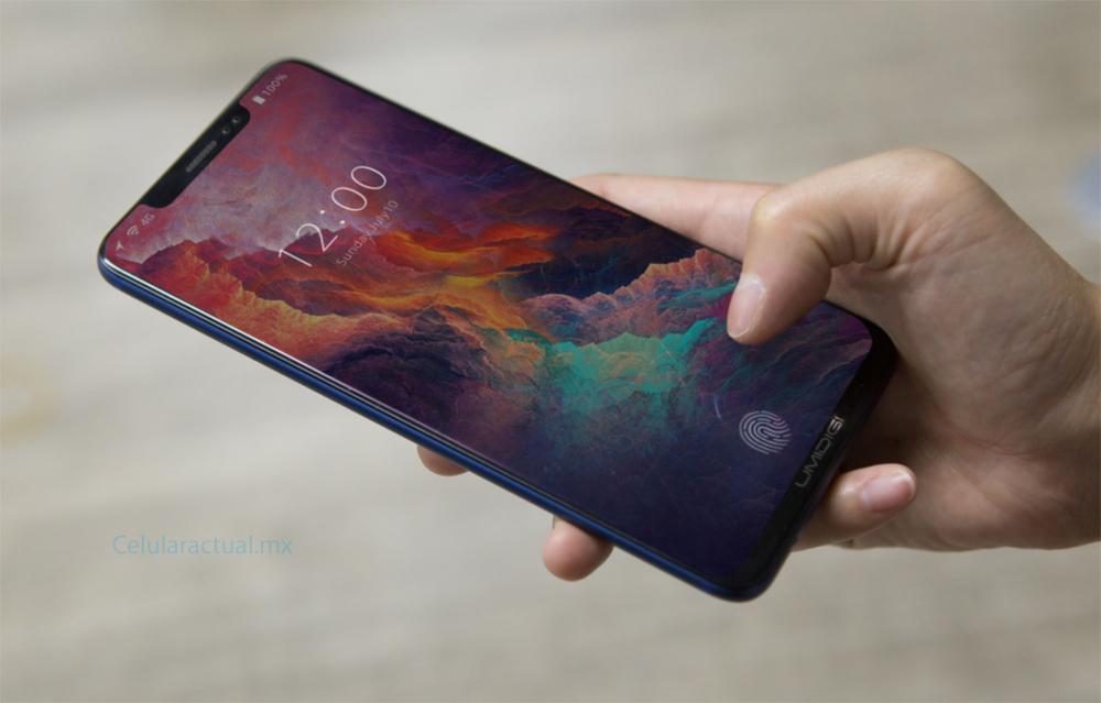 UMIDIGI Z2 similar al iPhone X con sensor de huellas digitales en pantalla