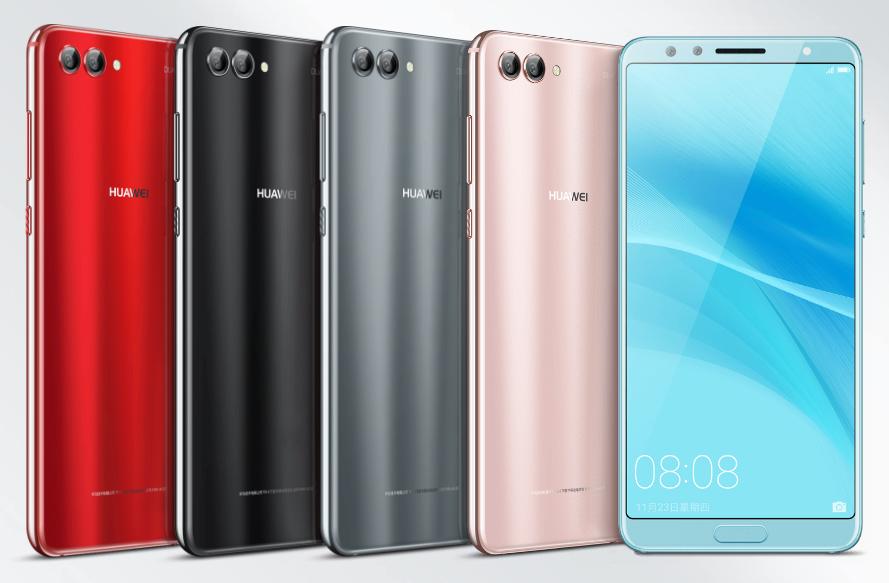 Huawei Nova 2s colores
