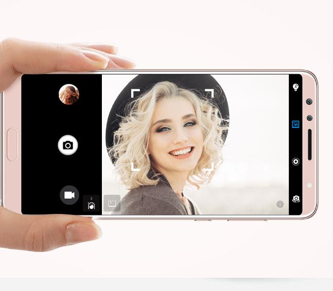Huawei Nova 2s cámara frontal Dual o doble de 20 MP y 2 MP