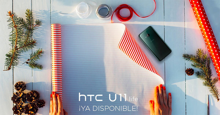 HTC U11 Life ya disponible en Telcel