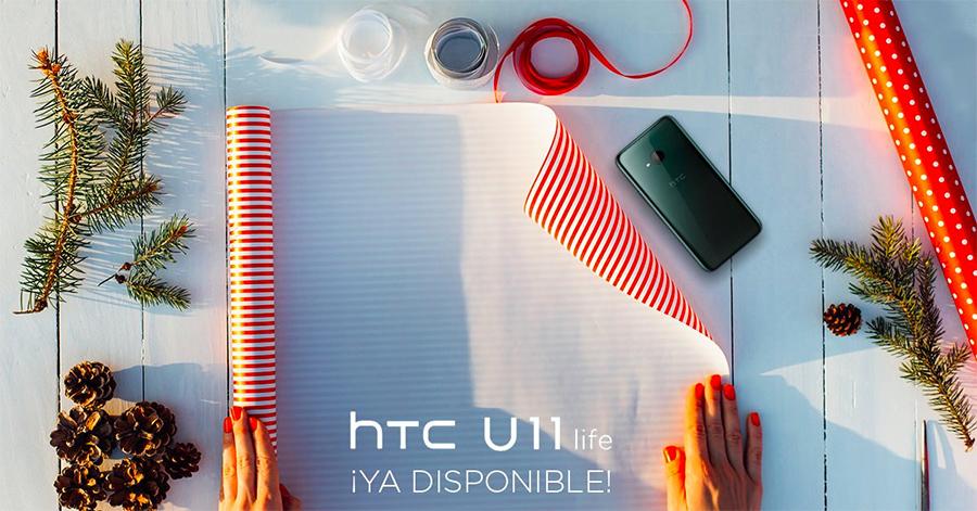 HTC U11 Life ya disponible en Telcel