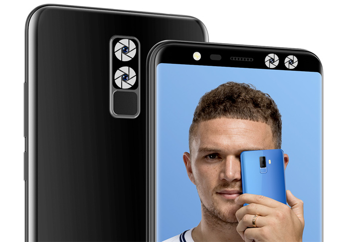 Leagoo M9 con 4 cámaras y pantalla completa