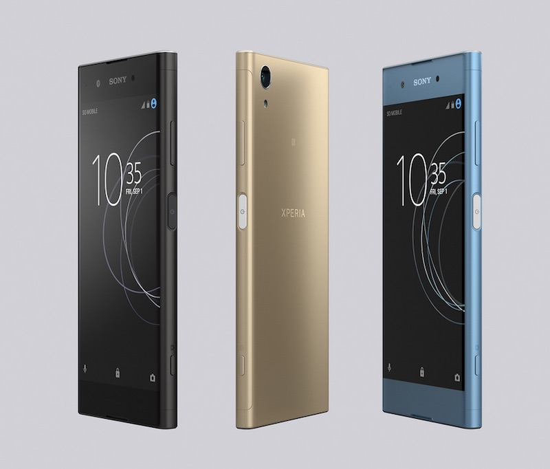 Sony Xperia XA1 Plus color dorado en México colores