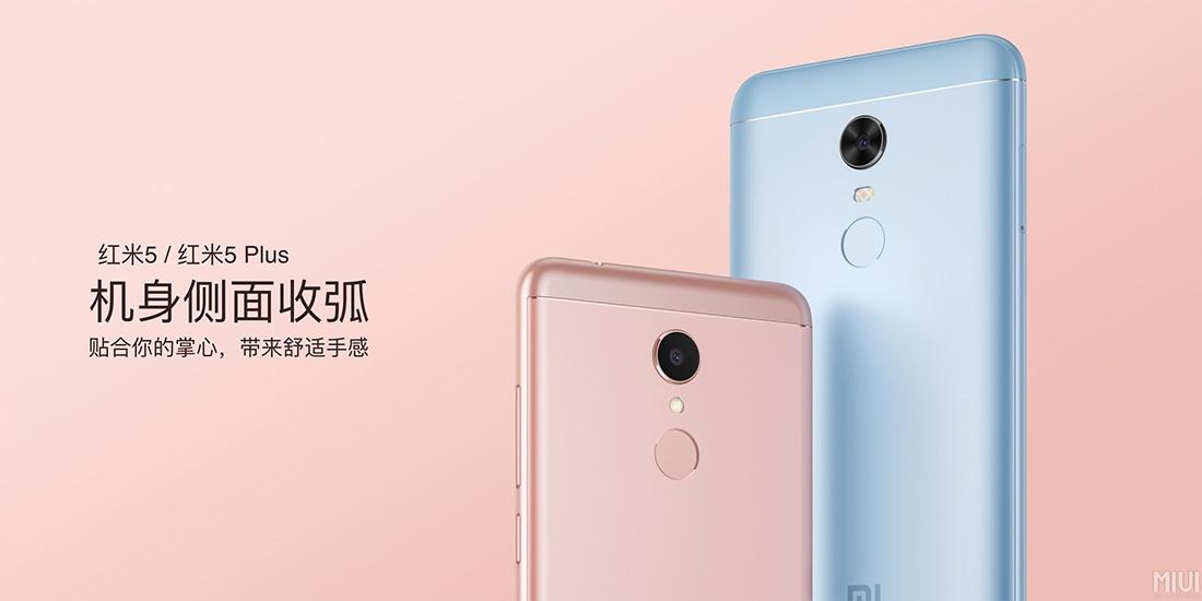 Xiaomi Redmi 5 y Redmi 5 Plus cámara posterior y lector de huellas