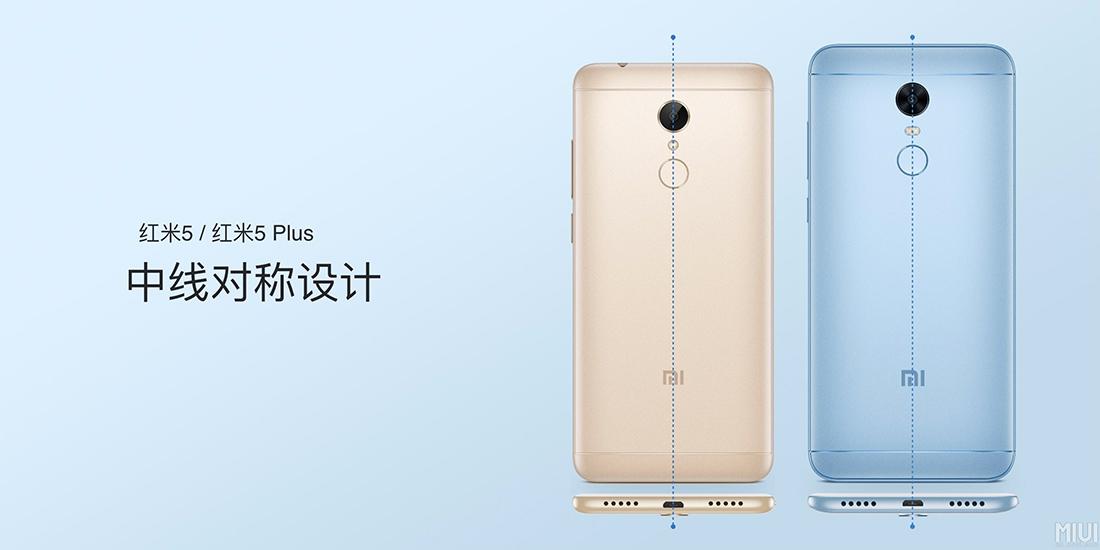 Xiaomi Redmi 5 y Redmi 5 Plus dimensiones