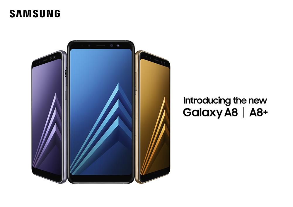 Samsung Galaxy A8 y Galaxy A8+ 2018 en México