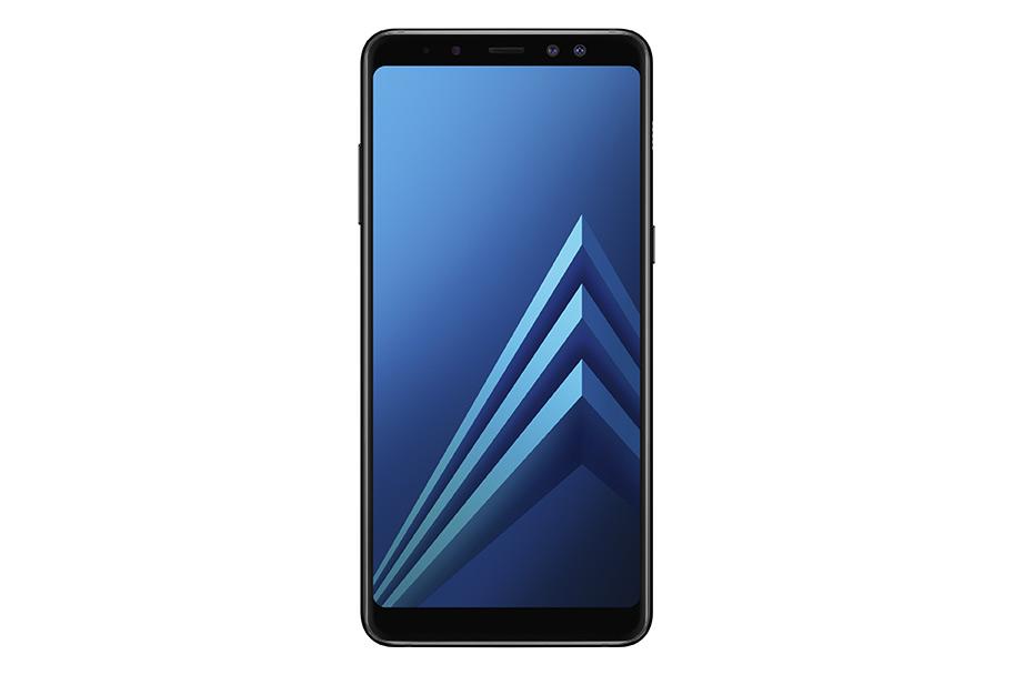 Samsung Galaxy A8 y Galaxy A8+ pantalla frontal