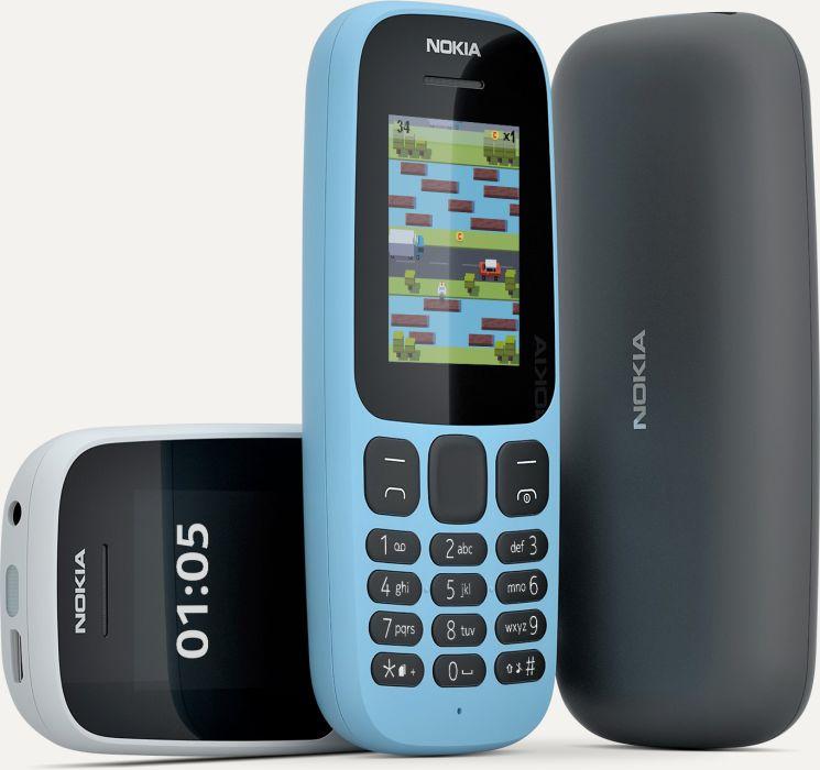 Nokia 105 en México colores y pantalla mejorada