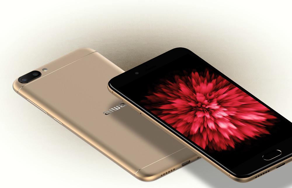 "AIWA AW790 en  México color dorado y pantalla HD IPS de 5.2"""