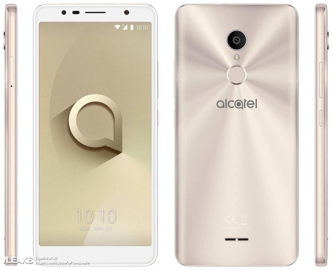 Alcatel 3C color blanco