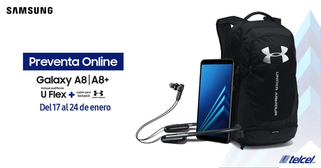 Samsung Galaxy A8 y Galaxy A8+ 2018 en preventa en México con Telcel