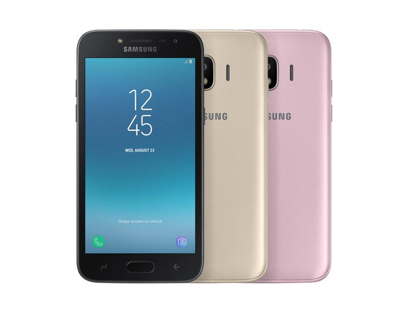 Samsung Galaxy J2 Pro colores