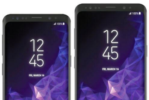 Galaxy S9 y S9 Plus detalle pantallas