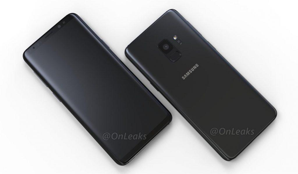 Samsung Galaxy S9 render No oficial