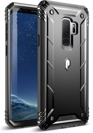 Samsung Galaxy S9+ carcasa color negro