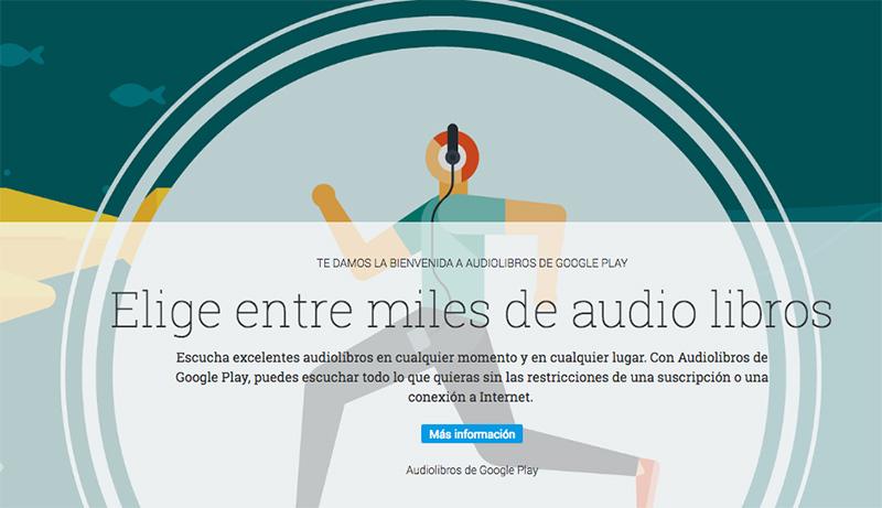 Audiolibros en español en Google Play