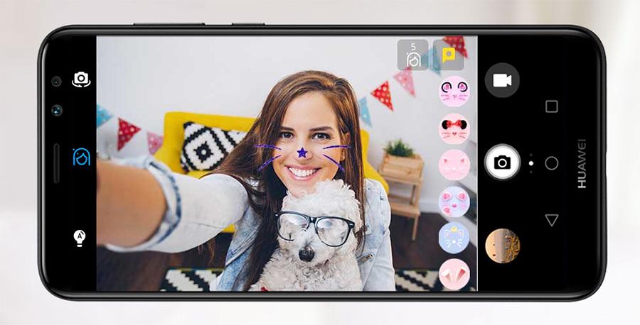 Huawei Mate 10 Lite en México doble cámara frontal selfie