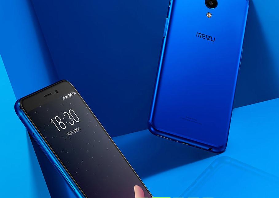 Meizu M6s gran diseño, color azul