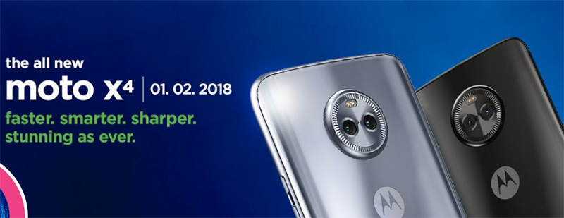 Moto X4 2018 llega en febrero más potente