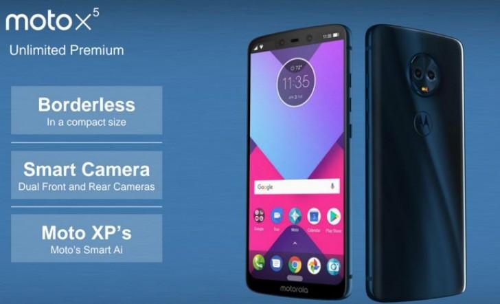 Moto X5 de Motorola