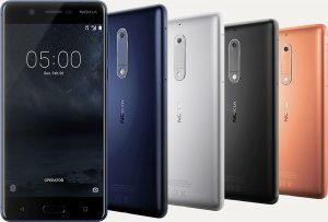 Nokia 5 colores