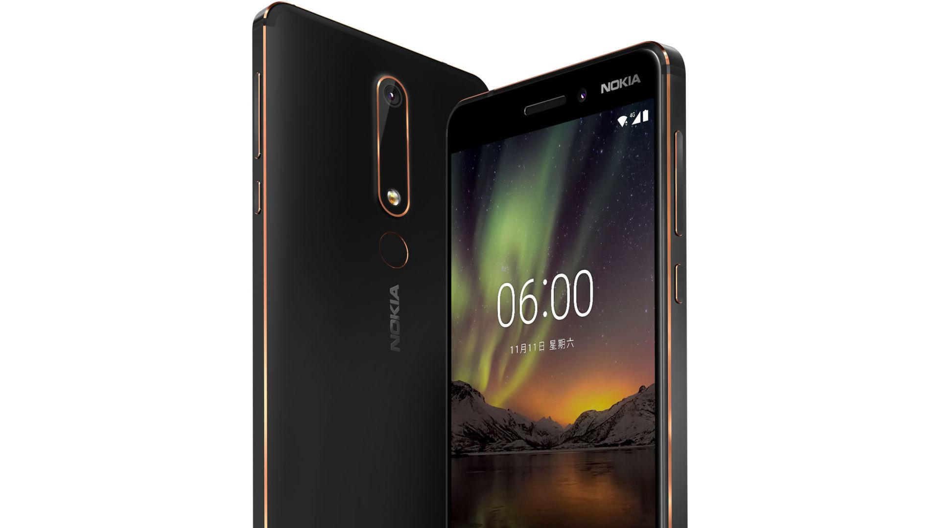 Nokia 6 2018 diseño exterior