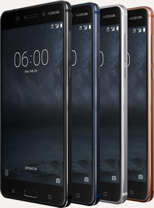 Nokia 6 colores